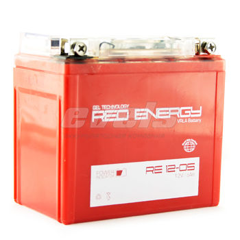 Red Energy RE12-05 (YTX5L-BS 5А/ч) зал.